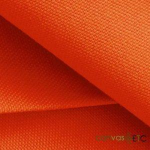 Waxed Canvas in Orange