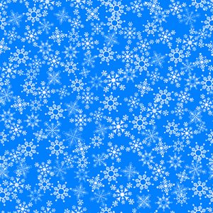 Christmas fabric snowflakes