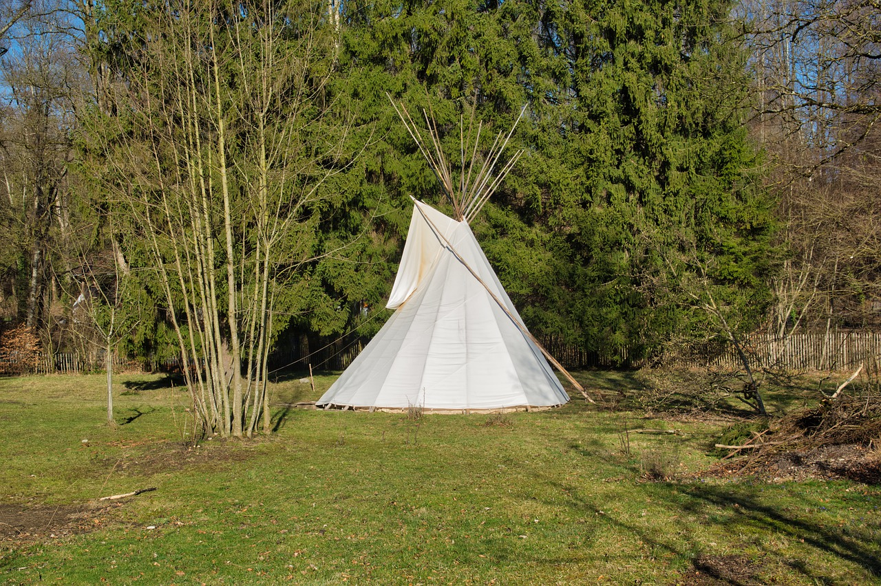 Teepee canvas projects spring 2020