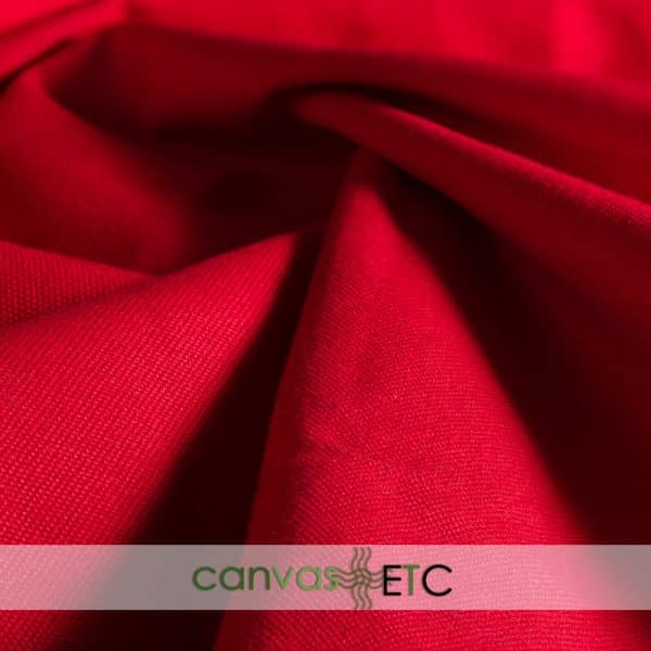#8 Cotton Duck Dyed Red