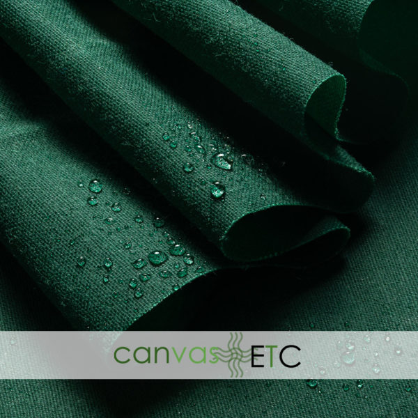 waxed shelter tent canvas hunter green