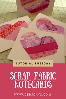 valentine's day crafts canvas etc scrap notecards