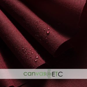 Waxed Canvas - Shelter Tent Duck - Burgundy | 60""