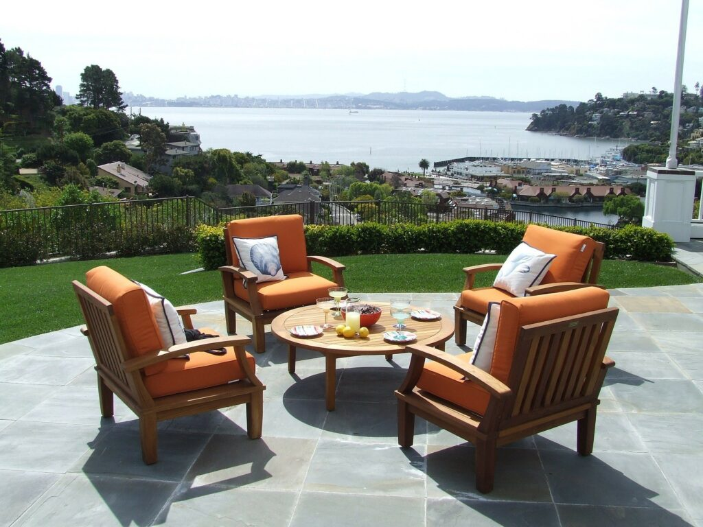 outdoor fabric seating canvas etc